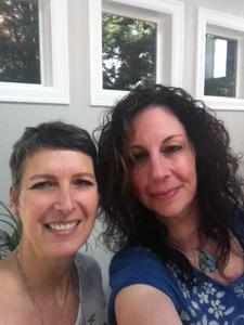 Sabine and me